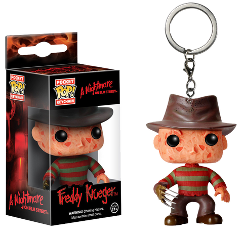 A Nightmare on Elm Street - Freddy Krueger Pocket Pop! Keychain