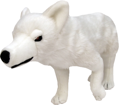 Game of Thrones - Ghost Direwolf 18 inch Plush