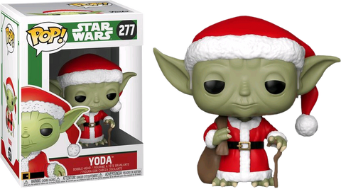 Star Wars - Yoda Santa Holiday Pop! Vinyl Figure - Pre-Order
