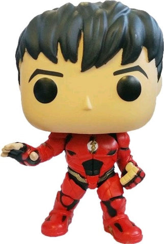 Justice League (2017) - Flash (Unmasked) Pop! Vinyl Figure - Pre-Order