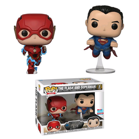Justice League - The Flash and Superman Race NYCC 2018 Exclusive Pop! Vinyl Figure
