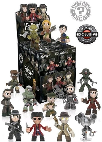 Fallout 4 - Gamestop Exclusive Mystery Mini Blind Box Case of 12 Figures