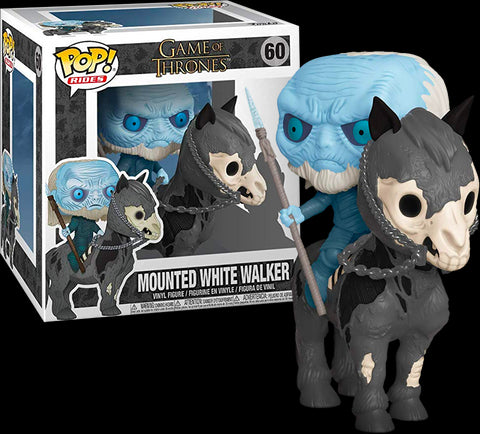 Game of Thrones - White Walker on Horse Pop! Rides Vinyl Figure