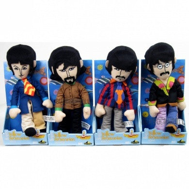 The Beatles - Yellow Submarine Fab Four Plush Set