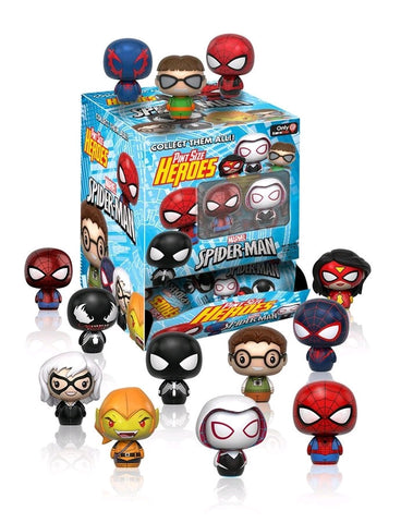 Spider-Man - Gamestop Exclusive Pint Size Heroes Mystery Mini Blind Bags Case of 24 Figures