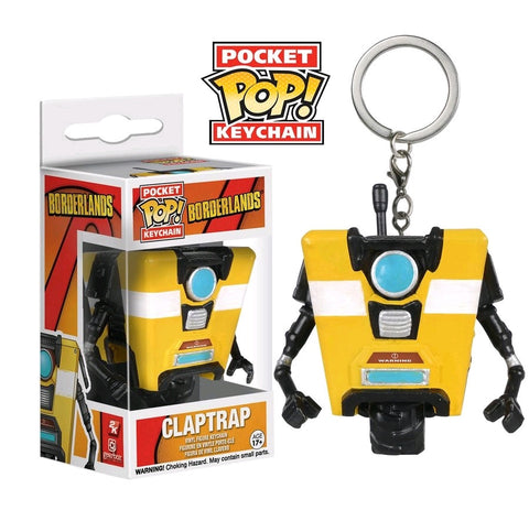 Borderlands - Claptrap Pocket Pop! Keychain