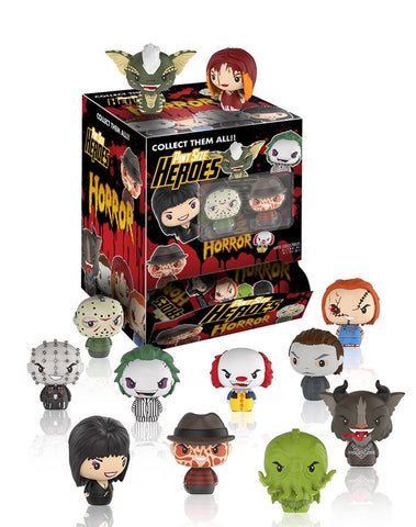 Horror - Pint Size Heroes Mystery Mini Blind Bags Case of 24 Figures