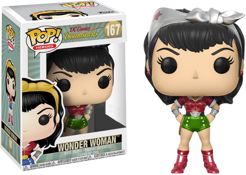 DC Bombshells - Wonder Woman Holiday Pop! Vinyl Figure - Pre-Order