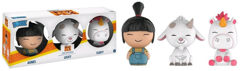 Despicable Me 3 - Agnes, Lucky & Fluffy Dorbz Vinyl Figure 3-Pack