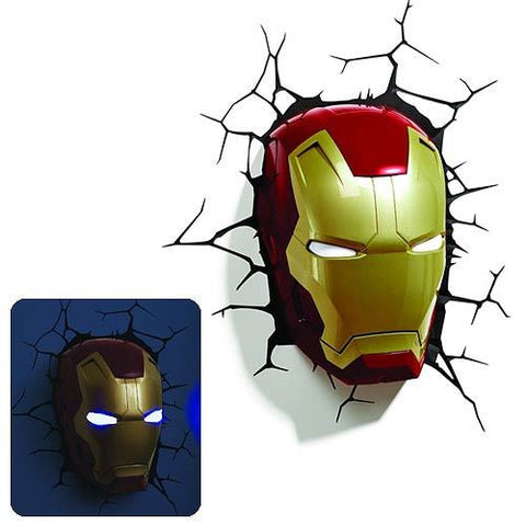 Iron Man - Mask 3D Nightlight