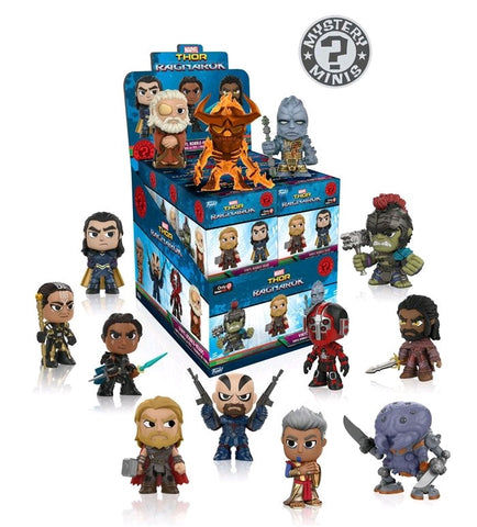 Thor: Ragnarok - Mystery Minis: Gamestop Exclusive Case of 12 Blind Boxes - Pre-Order