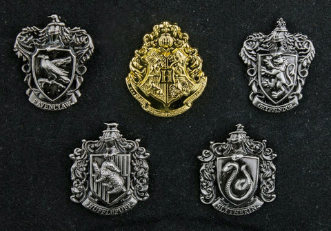 Harry Potter - House Crest Lapel Pin Set - Pre-Order
