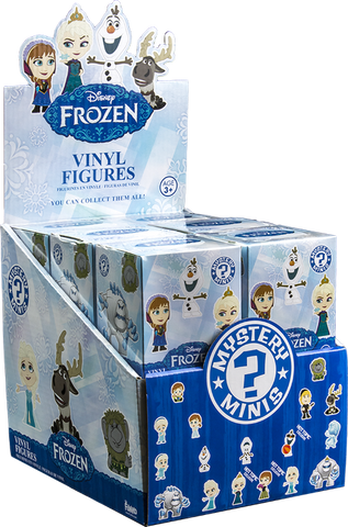 Frozen - Hot Topic Exclusive Mystery Mini Blind Box Case of 12 Figures
