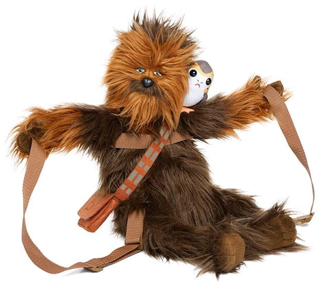 Star Wars - Chewbacca with Porg Backpack Buddy - Pre-Order