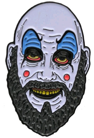 House of 1,000 Corpses - Captain Spaulding Enamel Pin - Pre-Order