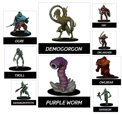 Dungeons & Dragons - Icons of the Realms Classic Creatures Box Set