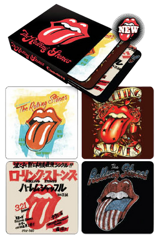 Rolling Stones - Set Of 4 Coasters In Sleeve