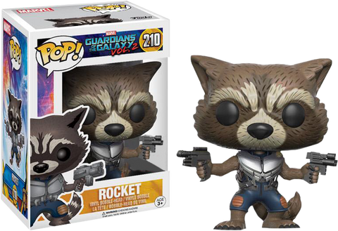 Guardians of the Galaxy: Vol 2 - Rocket with Guns Pop! Vinyl Figure