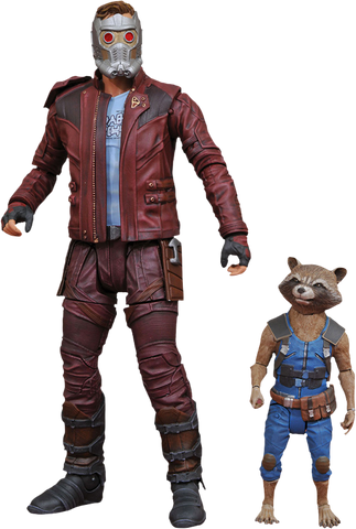 Guardians Of The Galaxy: Vol. 2 - Star-Lord & Rocket Action Figure 2-Pack - Pre-Order