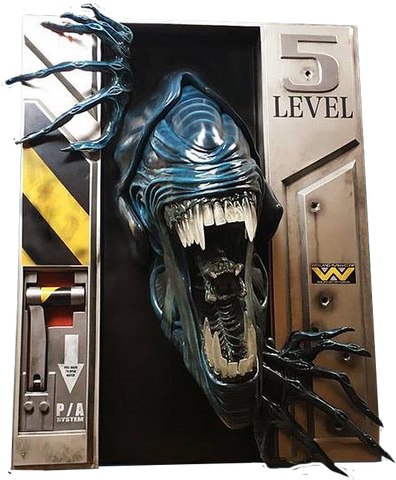 Aliens - Alien Queen 1:1 Scale Life-Size Replica Wall Sculpture - Pre-Order