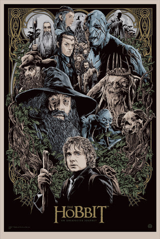The Hobbit: An Unexpected Journey - Limited Edition Print by Ken Taylor