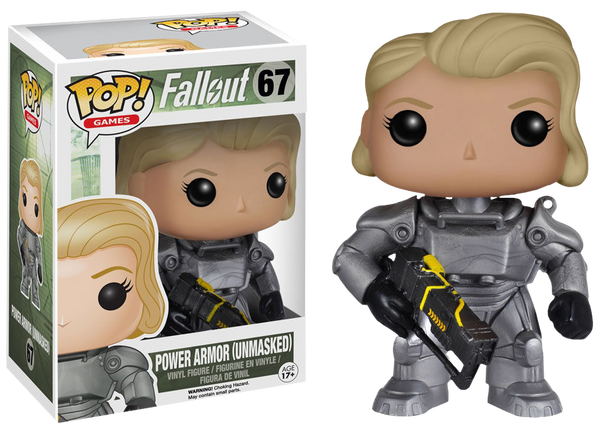 Fallout - Female Power Armor Unmasked US ExclusivePop! Vinyl Figure