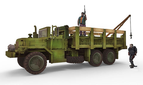 The Walking Dead - Woodbury Assault Vehicle Building Set