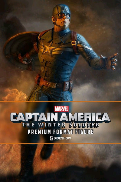 "Captain America: The Winter Soldier - 22"" Premium Format 1:4 Scale Statue"