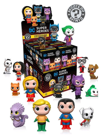 DC: Super Heroes & Pets - Mystery Mini Blind Box Case of 12 Figures