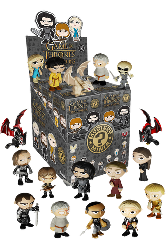 Game of Thrones - Mystery Mini Blind Box Series 2 Case of 12 Figures