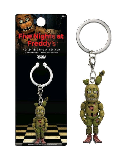 Five Nights at Freddy's - Springtrap Figure Keychain