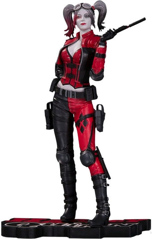 Batman - Harley Quinn Injustice 2 Version Red White & Black Statue - Pre-Order