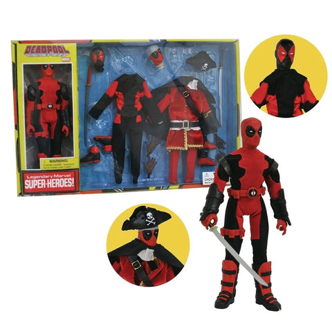 "Deadpool - 8"" Retro Action Figure Collector Set Volume 2 - Pre-Order"