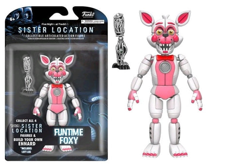"Five Nights at Freddy's: Sister Location - Funtime Foxy 5"" Action Figure - Pre-Order"