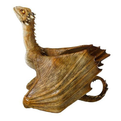 Game of Thrones - Baby Viserion Dragon Statue