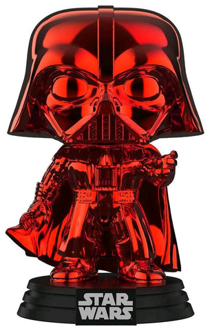 Star Wars - Darth Vader Red Chrome Pop! Vinyl Figure - Pre-Order