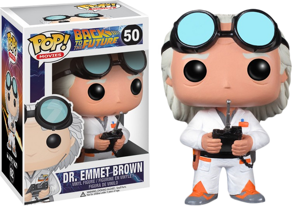Back to the Future - Dr. Emmett Brown Pop! Vinyl Figure