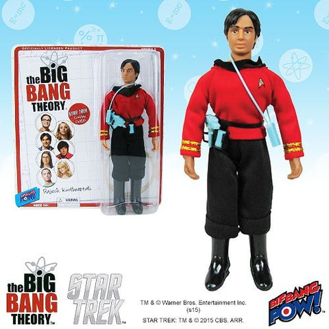 The Big Bang Theory - Star Trek: The Original Series 8-Inch Action Figure Raj