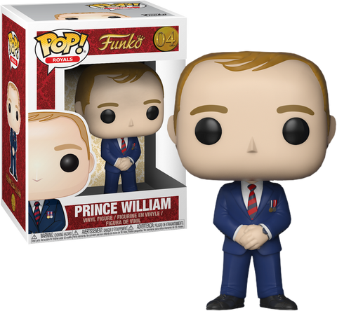 The Royal Family - Prince William Pop! Vinyl Figure - Pre-Order