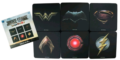 Justice League (2017) - Logo Coasters (Set of 6) - Pre-Order