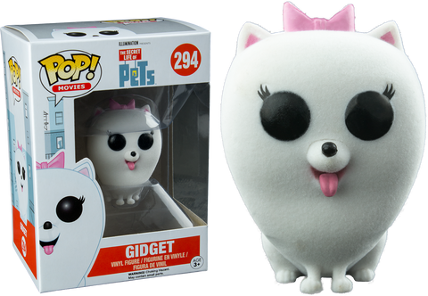 Secret Life of Pets - Gidget Flocked Pop! Vinyl Figure