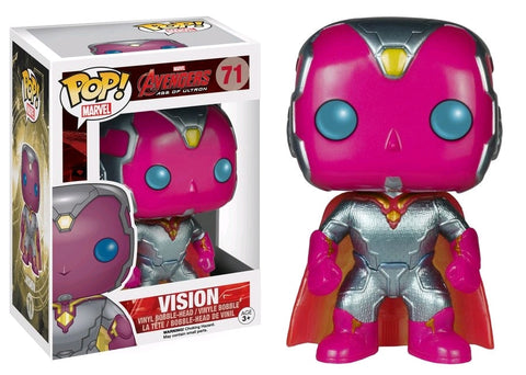 Avengers: Age of Ultron - Vision Metallic Pop! Vinyl Figure