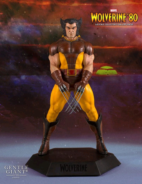 X-Men - Wolverine 1980 Collector's Gallery Statue - Pre-Order