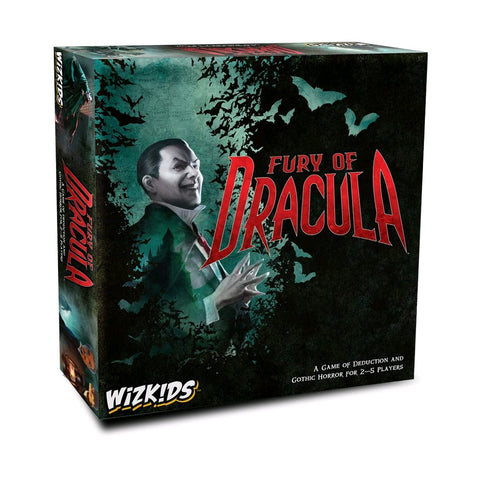 Fury of Dracula - 4th Edition Board Game - Pre-Order