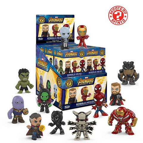 Avengers: Infinity War - Mystery Mini Blind Box Case of 12 Figures - Pre-Order