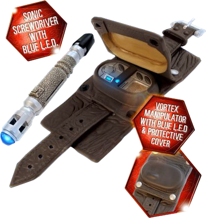 Doctor Who - Vortex Manipulator & Sonic Screwdriver
