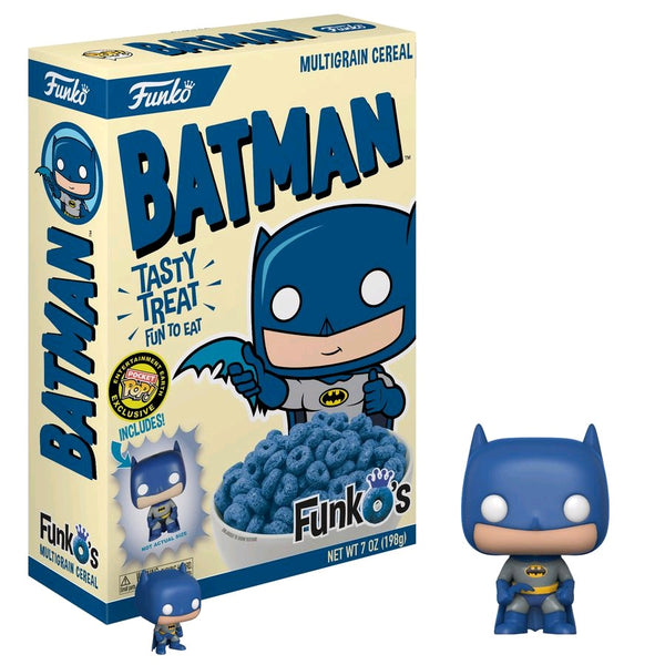 Batman - FunkO's Cereal with Batman Pocket Pop! Vinyl Figure - Pre-Order