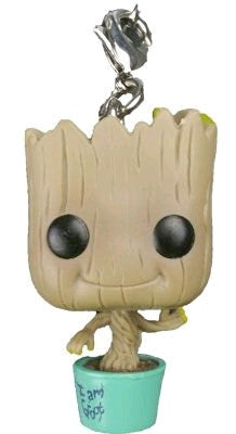 Guardians Of The Galaxy - Baby Groot in Teal Pot US Exclusive Pocket Pop! Keychain