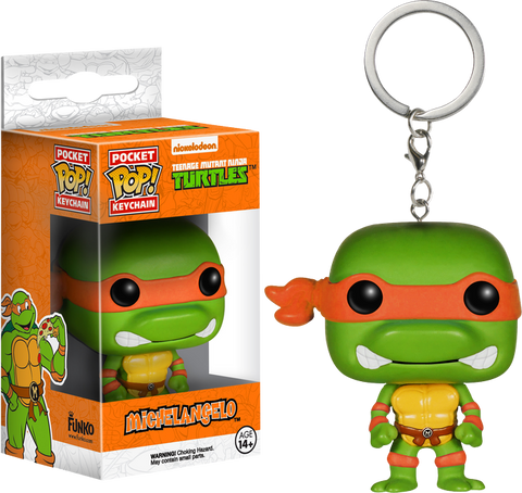 Teenage Mutant Ninja Turtles - Michelangelo Pocket Pop! Keychain