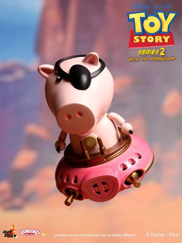 "Toy Story - Evil Dr. Pork Cosbaby 3"" Figure Series 2"